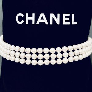 3 layer pearl necklace - charter club